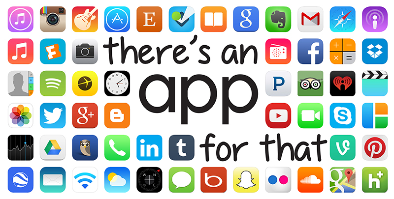 """The Wave of the Future of Healthcare is in the App Store. """"There's An App For That""""."""