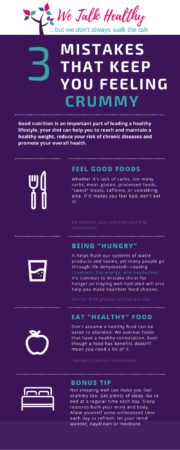 Health Mistakes Infographic