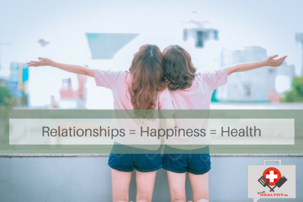 relationships = happiness